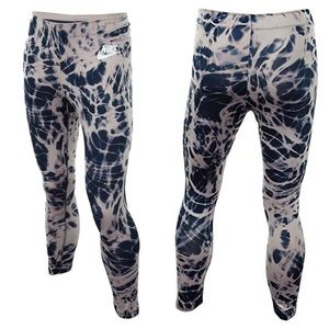NIKE Tie Dye Blue Pink Sport Capri Leggings Medium